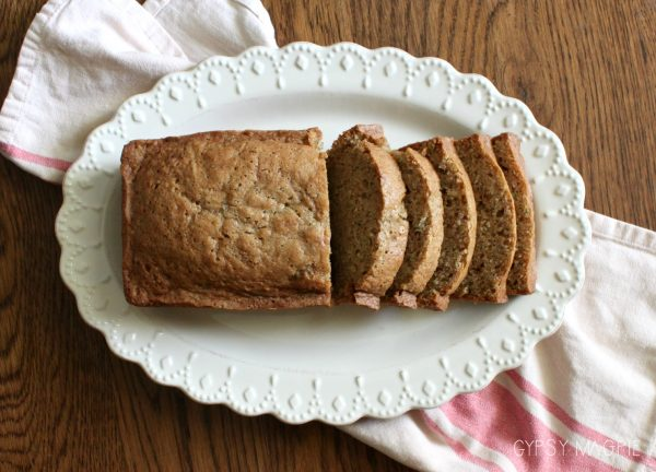 Old fashioned zucchini bread just like Grandma used to make | Gypsy Magpie