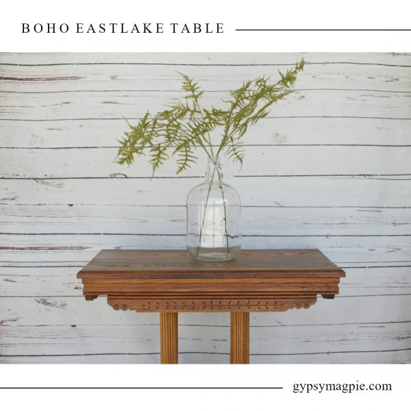 Boho Eastlake Table | Gypsy Magpie