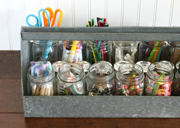 Tool box craft caddy idea | Gypsy Magpie