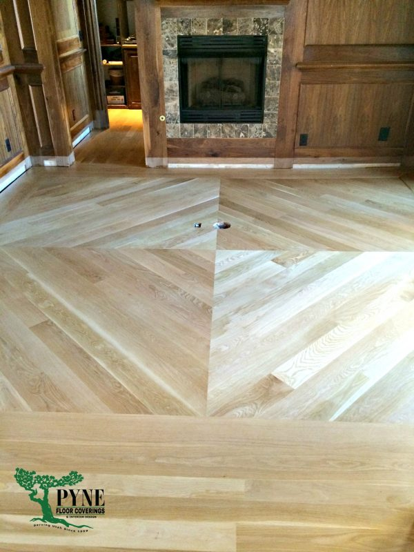 White oak is so hot in flooring right now! This floor, installed by Jeremy Pyne of Pyne Floor Coverings is gorgeous. | Gypsy Magpie