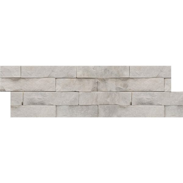 Stacked Slate White Quartzite from Emser Tile