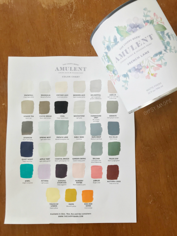 Amulent Paint from The Chippy Barn | Gypsy Magpie