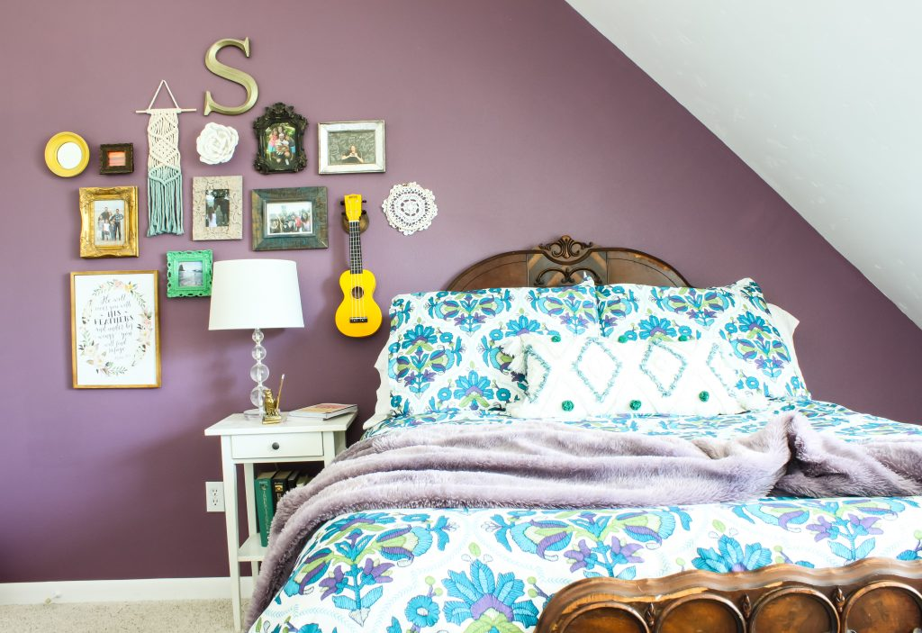 Valspar Purple Sunset | Gypsy Magpie