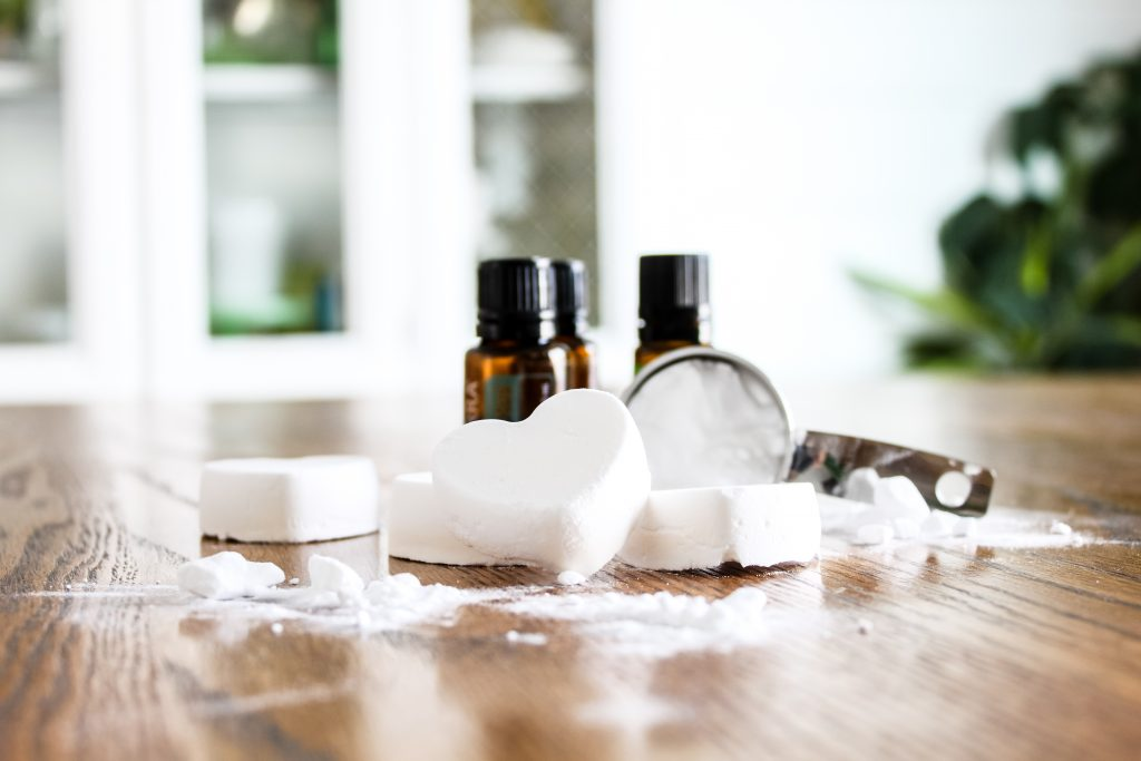 Make your own essential oil shower melts | gypsy magpie