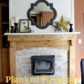 Fireplace Makeover {Gypsy Magpie}
