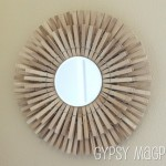 DIY Sunburst Mirror inspired by Imparting Grace {Gypsy Magpie}