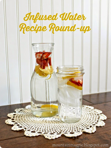 Infused Water Recipe Round-up {Gypsy Magpie}