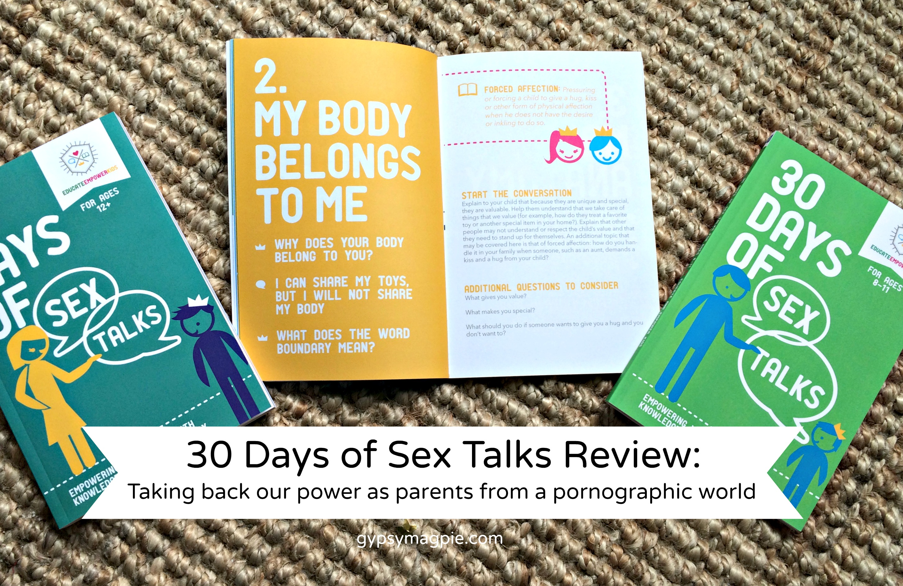 30 Days of Sex Talks Review: Taking back our power as parents form a pornographic world