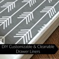 DIY Customizable & Cleanable Drawer Liners | Gypsy Magpie