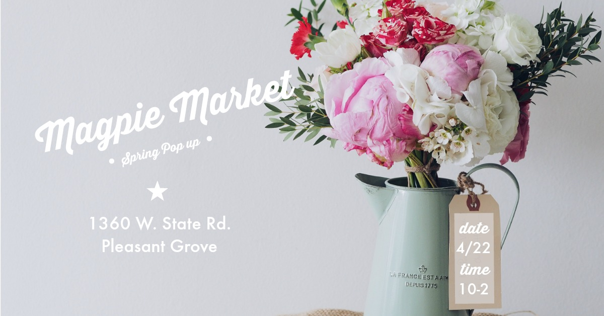 Prepping for Magpie Market's Spring Pop up! It's going to be fun! | Gypsy Magpie