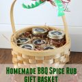Homemade BBQ spice rubs. Perfect gift for the griller in your life!