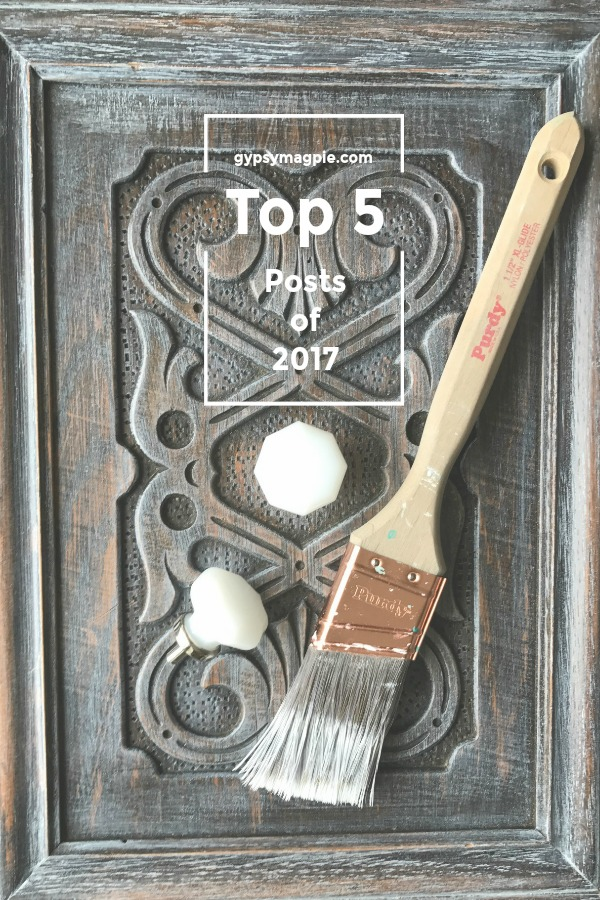 Top 5 posts of 2017 from Gypsy Magpie!