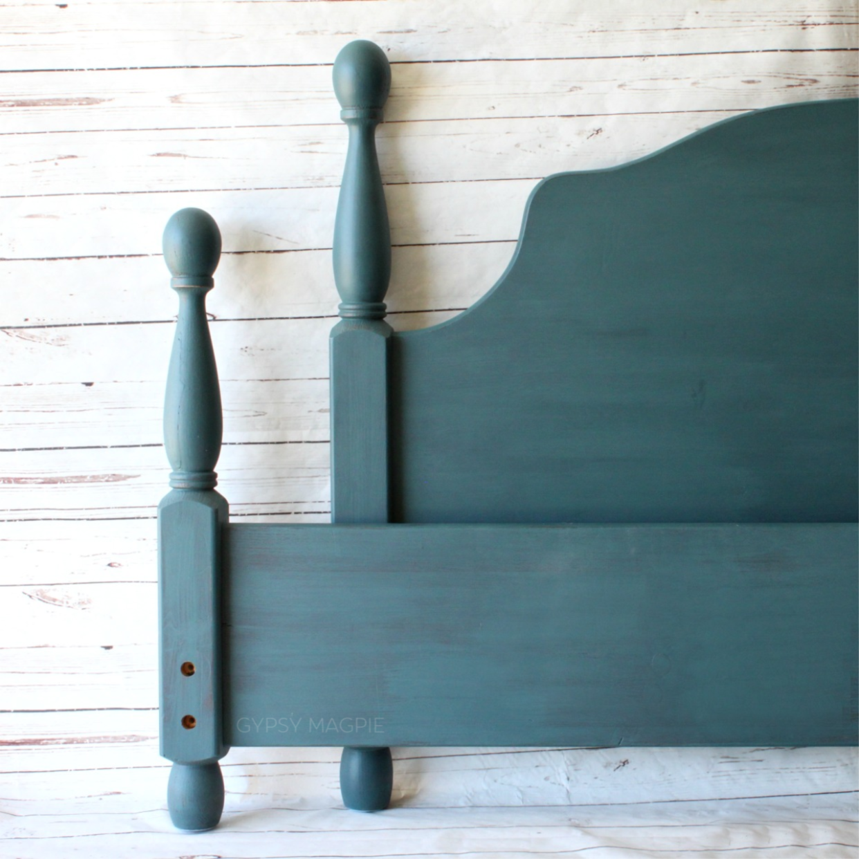 Magnolia Weekend bed frame. So darling! | Gypsy Magpie