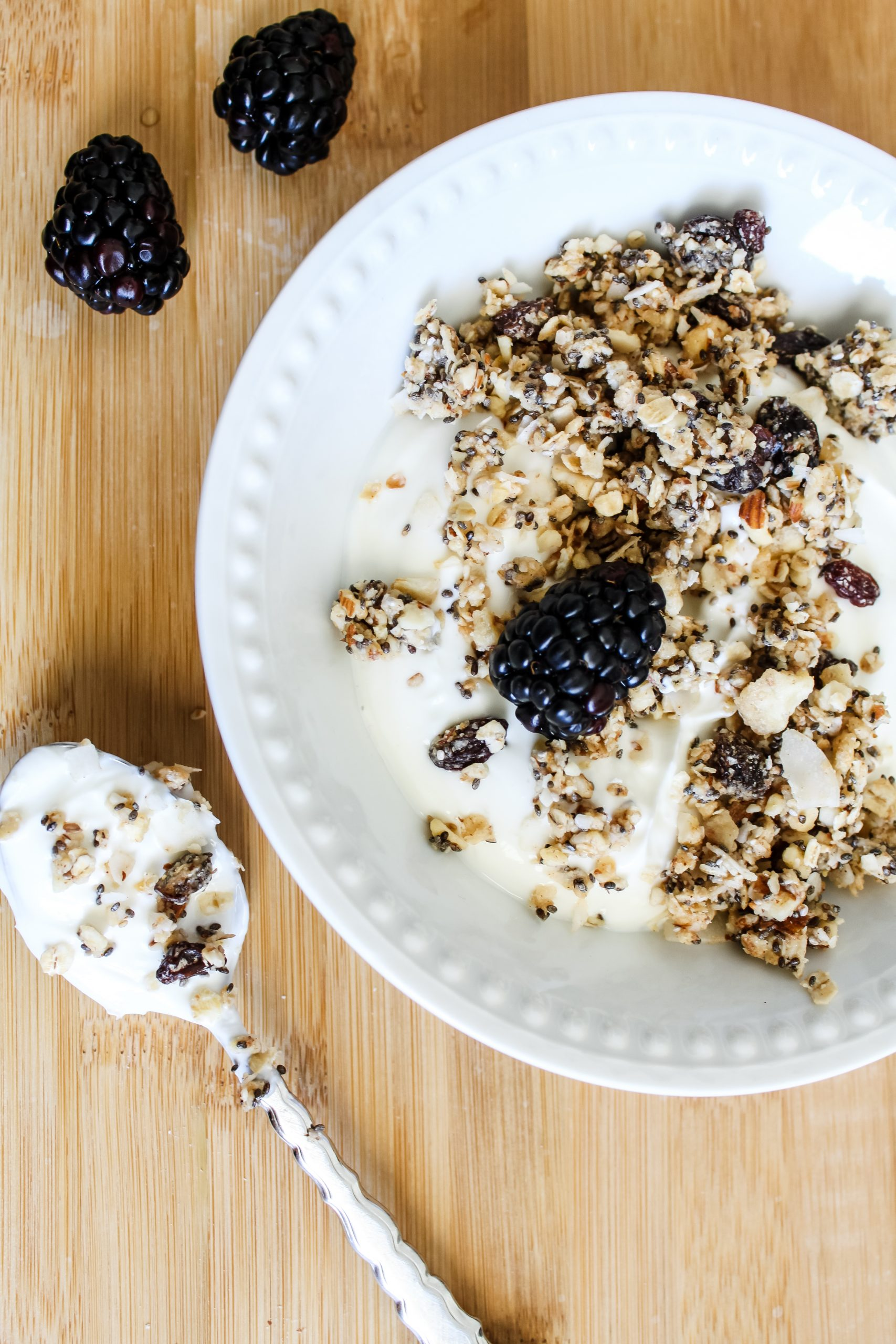 Miss K's Raw Granola | gypsy magpie
