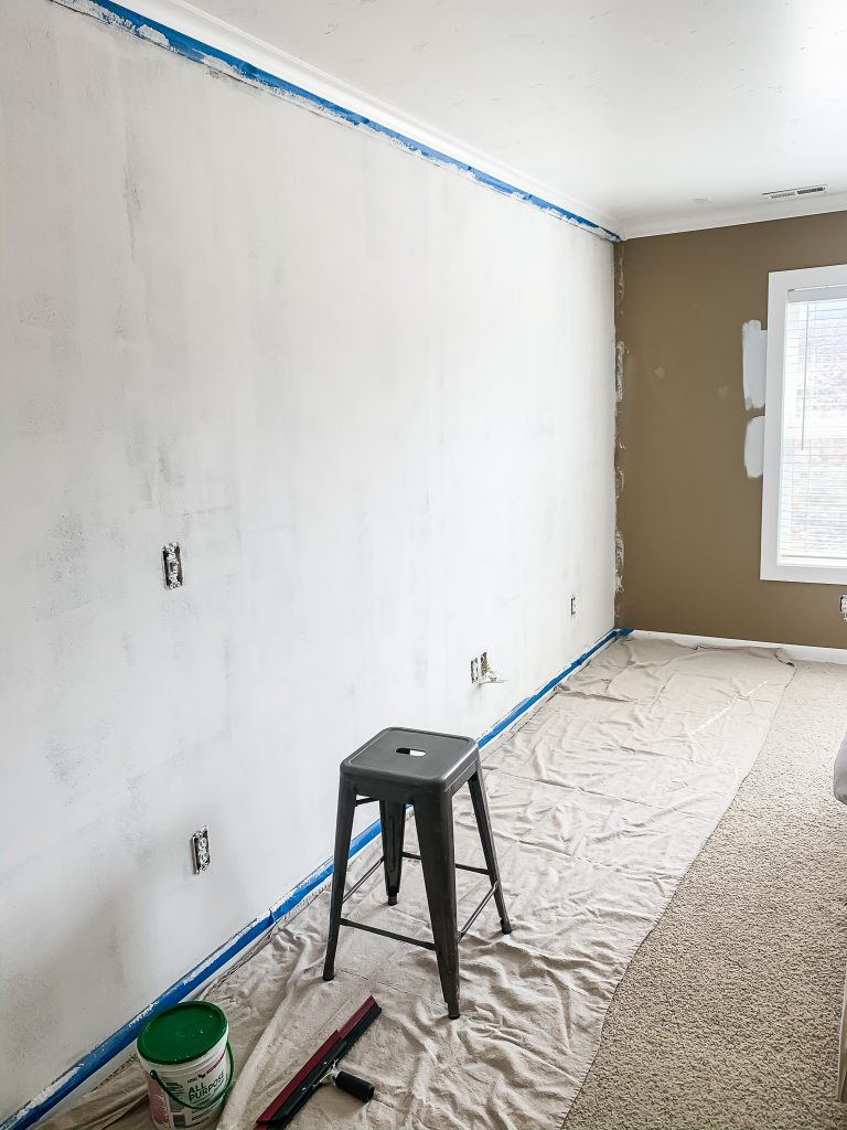 Taught myself to skimcoat drywall. That was an adventure! | gypsy magpie