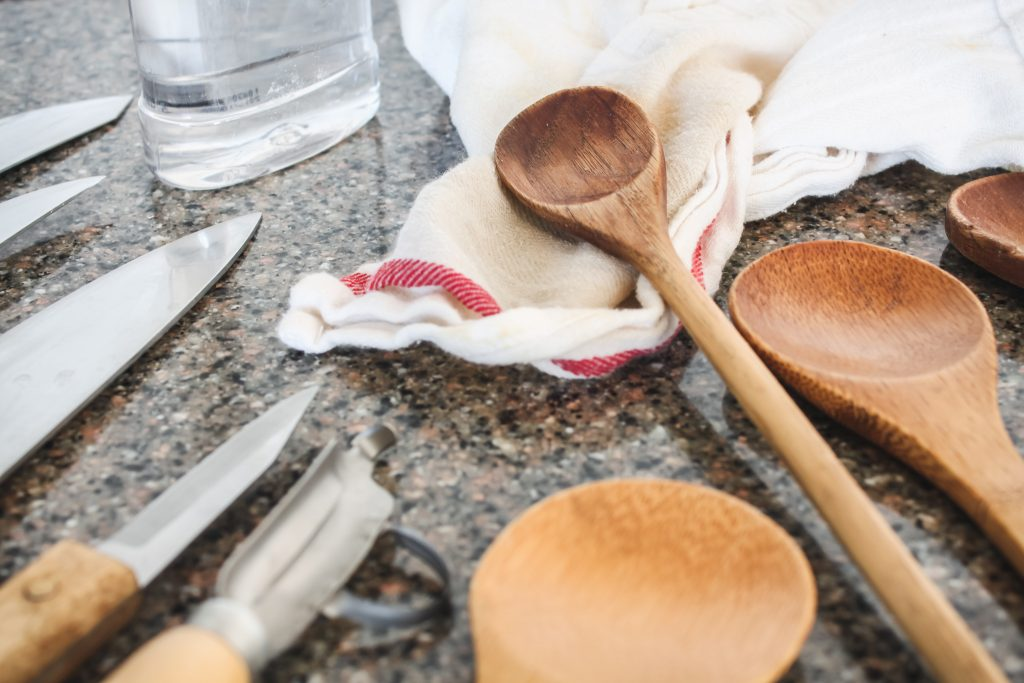 Freshly oiled spoons | gypsy magpie