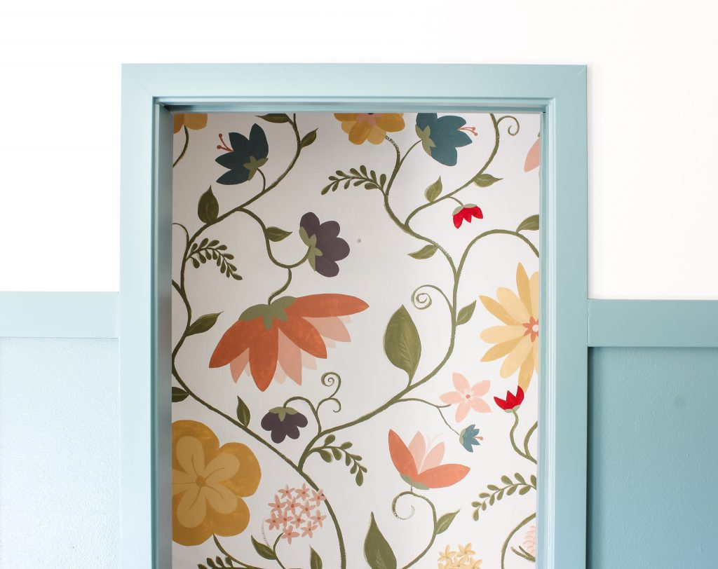 Floral wall mural | gypsy magpie
