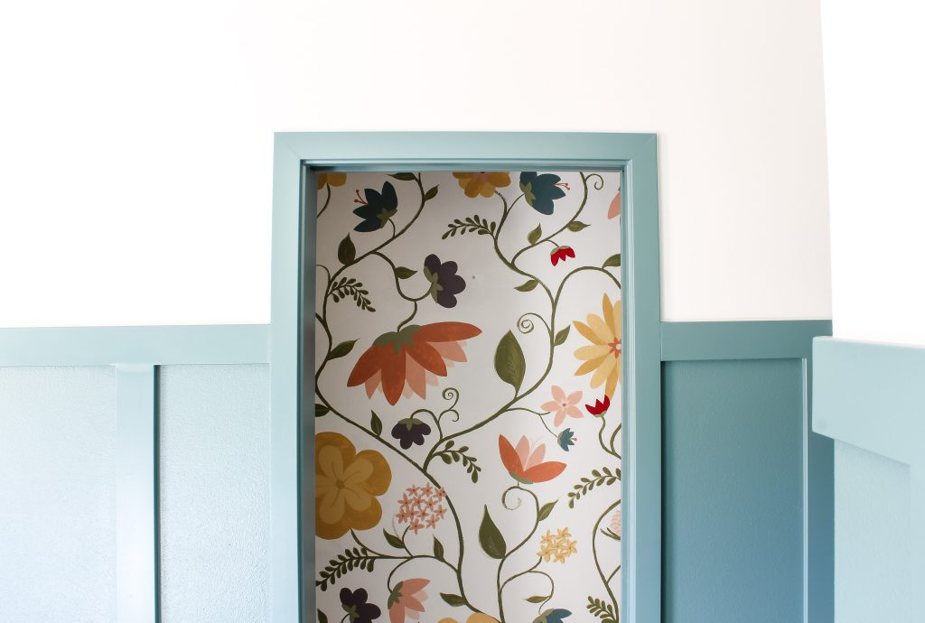 Whimsical floral mural | gypsy magpie