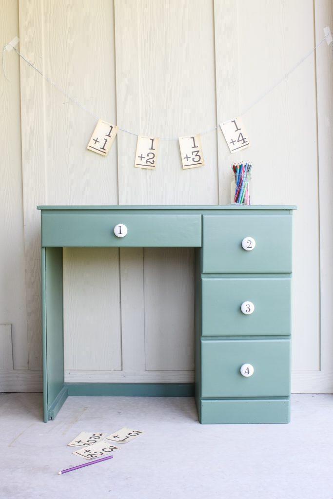 A little 1980s desk all made new again | gypsy magpie